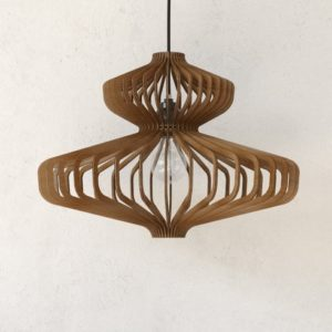 Wood Pendant Light1