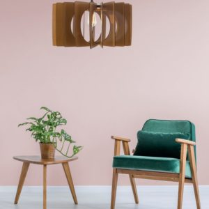 The Novosibirsk Wood Pendant Light