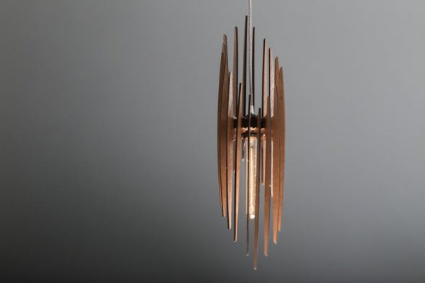 The Paris Wood Pendant Light