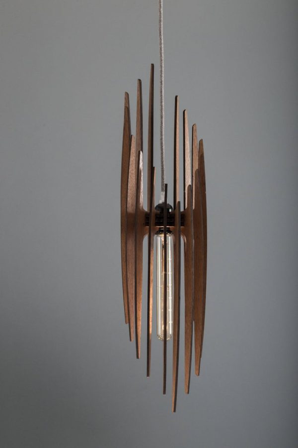 The Paris Wood Pendant Light1