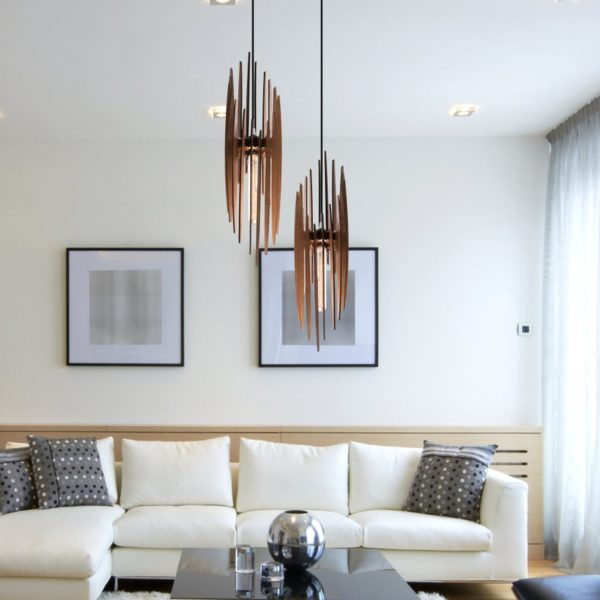 The Paris Wood Pendant Light2