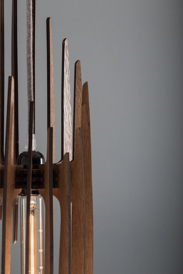 The Paris Wood Pendant Light4