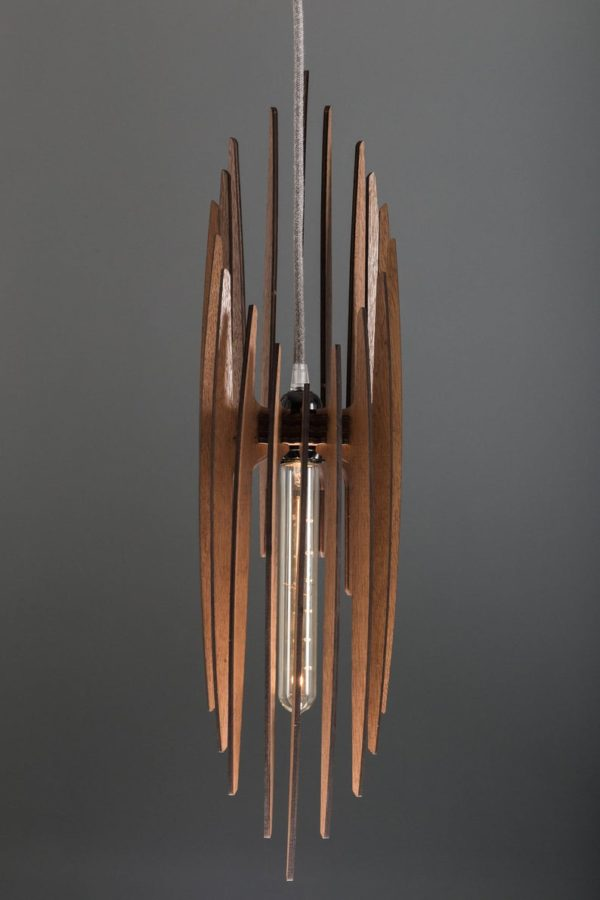 The Paris Wood Pendant Light5