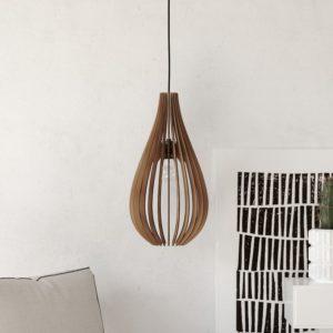 The Rome Wood Pendant Light