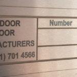 Robomojo Creations fiber laser Amdoor-Manufacturers sign Cape Town