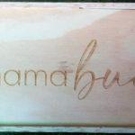 Robomojo Creations laser engrave Strand Mamabuci honey boxes engraved top
