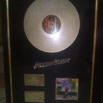 Robomojo Creations laser engrave Cape Town Gold LP award