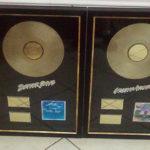 Robomojo Creations laser engrave Strand Gold LP awards