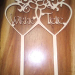 Robomojo Creations laser engrave Cape Town Laser cut birthday cake topper
